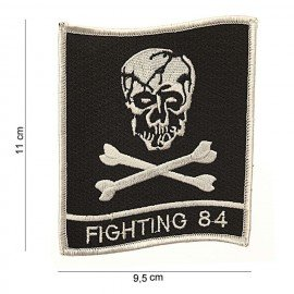 101 INC Patch Fighting 84 Skull (101 Inc) AC-WP47021775A Patch en tissu