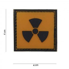 3D radioaktives PVC-Patch (101 Inc.)