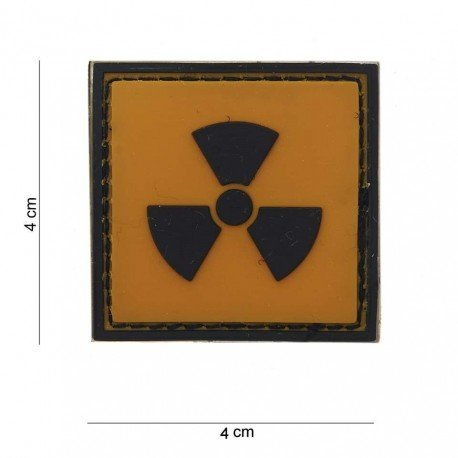 101 INC Patch 3D PVC Radioactive (101 Inc) AC-WP4441203700 Patch en PVC
