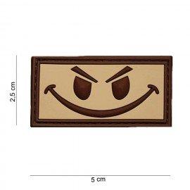 PVC 3D Patch Böse Smiley Desert (101 Inc)