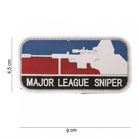101 INC Patch 3D PVC Major League Sniper (101 Inc) AC-WP4441103570 Patch en PVC
