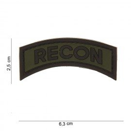 101 INC Patch 3D PVC Recon OD (101 Inc) AC-WP4441203525 Patch en PVC
