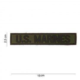 Parche de PVC US Marines OD 3D (101 Inc)