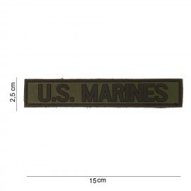 Patch 3D PVC US Marines OD (101 Inc)