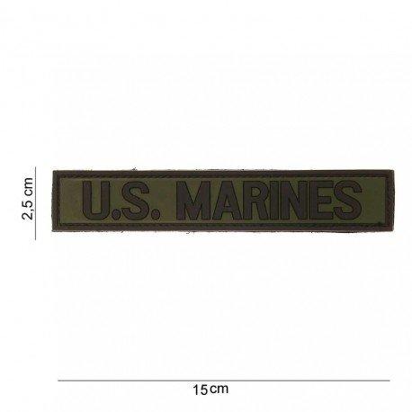 101 INC Patch 3D PVC US Marines OD (101 Inc) AC-WP4441203528 Patch en PVC
