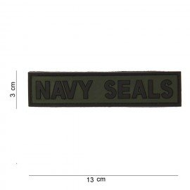Navy Patches aus PVC mit 3D-Patch (101 Inc)