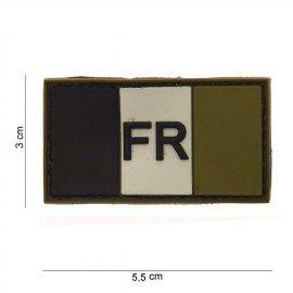 3D PVC Patch Frankreich OD (101 Inc)