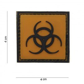 101 INC Patch 3D PVC Biohazard / Biologique (101 Inc) AC-WP4441203596 Patch en PVC