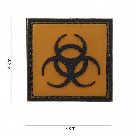 101 INC Patch 3D PVC Biohazard / Biologique (101 Inc) AC-WP4441203596 Patch en PVC