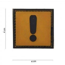 Patch 3D PVC Caution (101 Inc)
