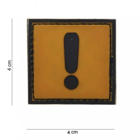 101 INC Patch 3D PVC Attention (101 Inc) AC-WP4441203599 Patch en PVC
