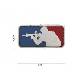 3D PVC Major League Patch (101 Inc)
