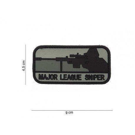 101 INC Patch 3D PVC Major League Sniper Noir & Gris (101 Inc) AC-WP4441103551 Patch en PVC