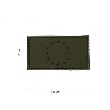 101 INC Patch 3D PVC Europe OD (101 Inc) AC-WP4441203543 Patch en PVC