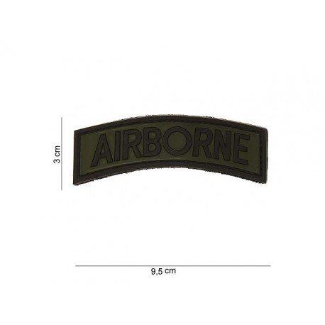 101 INC Patch 3D PVC Airborne OD (101 Inc) AC-WP4441203530 Patch en PVC