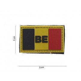 101 INC Patch 3D PVC Small Belgique 3D (101 Inc) AC-WP4441203701 Patch en PVC