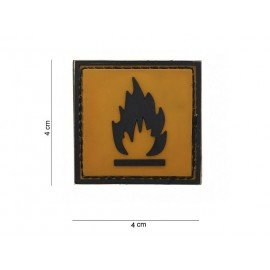 101 INC Patch 3D PVC Inflammable (101 Inc) AC-WP4441203595 Patch en PVC