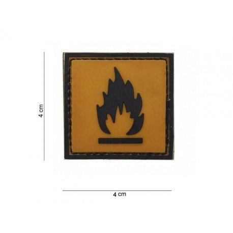 101 INC Patch 3D PVC Inflammable (101 Inc) AC-WP4441203595 Patch en PVC