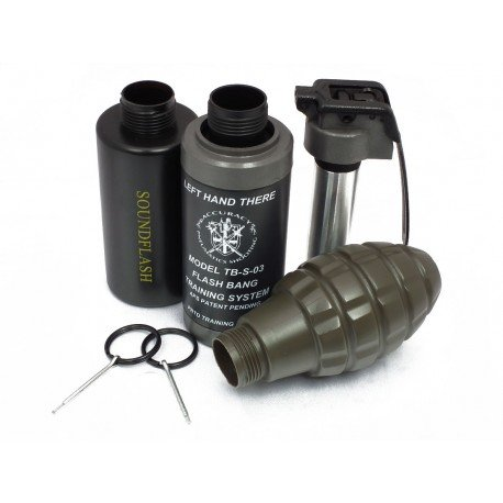 Grenade Co2 : Pack Kit Armement w/ 3 coques (APS) AC-APTB03 Grenade & Mine Airsoft