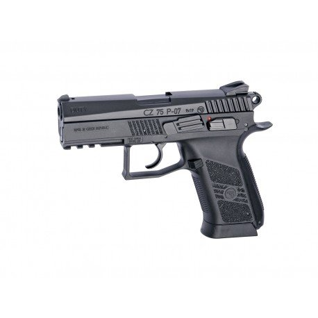 replique-CZ75-D P07 Duty Culasse Fixe Metal Co2 (ASG 16718) -airsoft-RE-AS16718