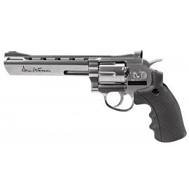 "Revolver Dan Wesson 6"" Chrome (ASG 17479)"