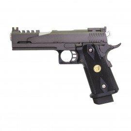 WE WE HiCapa 5.1 Dragon RE-WEGGB0309TMB Pistolet à gaz - GBB