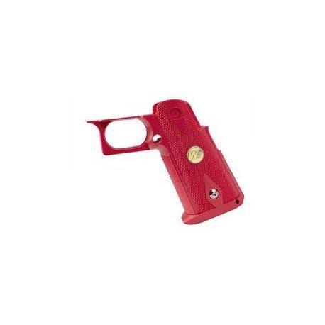 WE Poignee / Grip Pistolet Rouge IPSC (WE) AC-WEUP05R Pièces Upgrades GBB