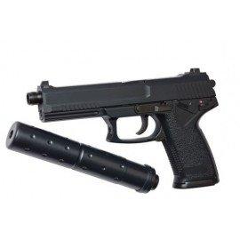 STTI STTI ST23 type Socom MK23 Gaz RE-GGH0302 Pistolet à gaz - GBB