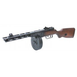 replique-S&T PPSH 41 Bois & Métal Blowback -airsoft-RE-ST00016