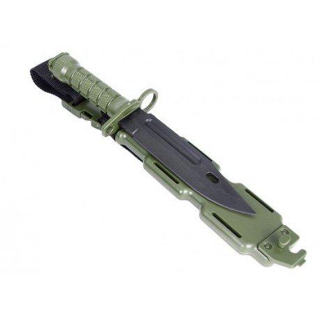 WE Baionnette Factice M9 w/ Fourreau OD (Emerson) AC-TD013OD Equipements