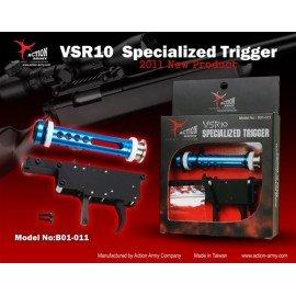 Army Action Army Zero Action Trigger VSR10 AC-AAB01011 actualiza partes de francotirador