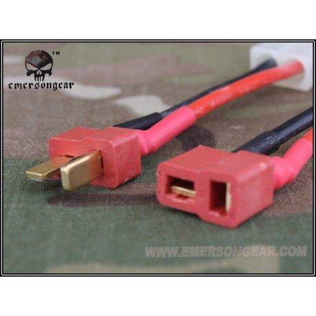 Emerson Set Adaptateur Connectique T vers Large (Emerson) AC-EM8404 Batteries