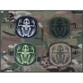 Patch 3D PVC Skull Frog Multicam (Emerson)