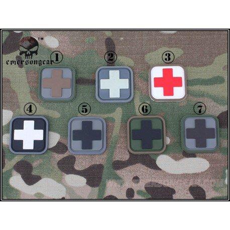 Emerson Patch 3D PVC Medic Blanc & Noir (Emerson) AC-EMEM5552C Patch en PVC