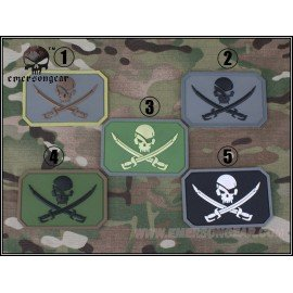 Patch PVC Pirate OD 3D (Emerson)