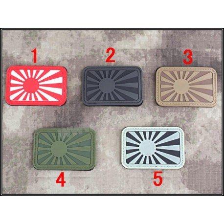 Emerson Patch 3D PVC Japon Gris (Emerson) AC-EMBD5497A Patch en PVC