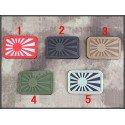 PVC 3D Patch Japan Grau (Emerson)