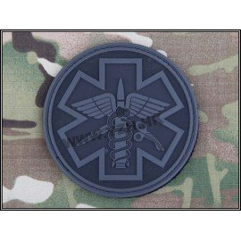 Patch 3D PVC Paramedic Gris (Emerson)