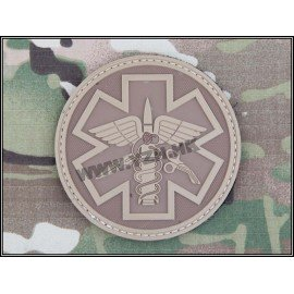 Paramedic Patch PVC Coyote