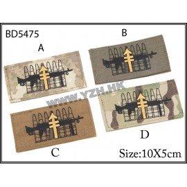 Emerson Patch Platoon Machine Gunner A-Tacs (Emerson) AC-EMBD5475A Patch