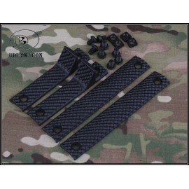 Cache Rail (Set 4pcs) URX Noir (Emerson)