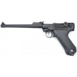 """WE WE Luger P08 8"""" Artillerie Gaz RE-WEGGB0338TM Répliques de Poing GBB"""