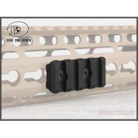 Emerson Rail 4 Slots pour Garde-Main NSR Noir (Emerson) AC-EMBD9173 Accessoires