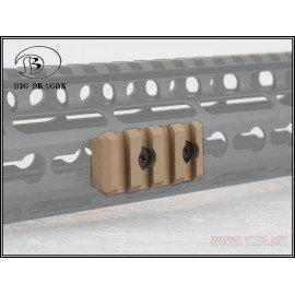 Emerson Rail 4 Slots pour Garde-Main NSR Desert (Emerson) AC-EMBD9173A Accessoires