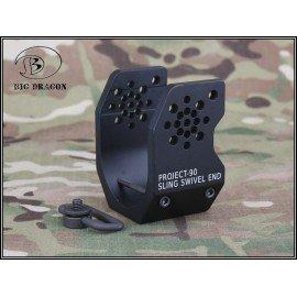 Attache Sangle P90 V1 Noir