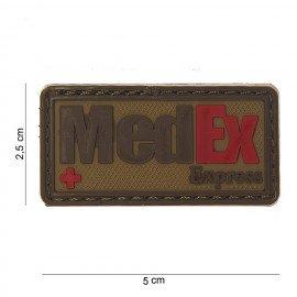 3D-PVC-Patch Medex Express Desert (101 Inc)