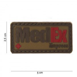 101 INC Patch 3D PVC Medex Express Desert (101 Inc) AC-WP4441503711 Patch en PVC