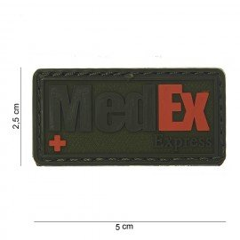 101 INC Patch 3D PVC Medex Express OD (101 Inc) AC-WP4441503714 Patch en PVC