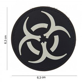 PVC Resident Evil 3D Patch blanco y negro