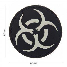 PVC Resident Evil 3D Patch Weiß & Schwarz